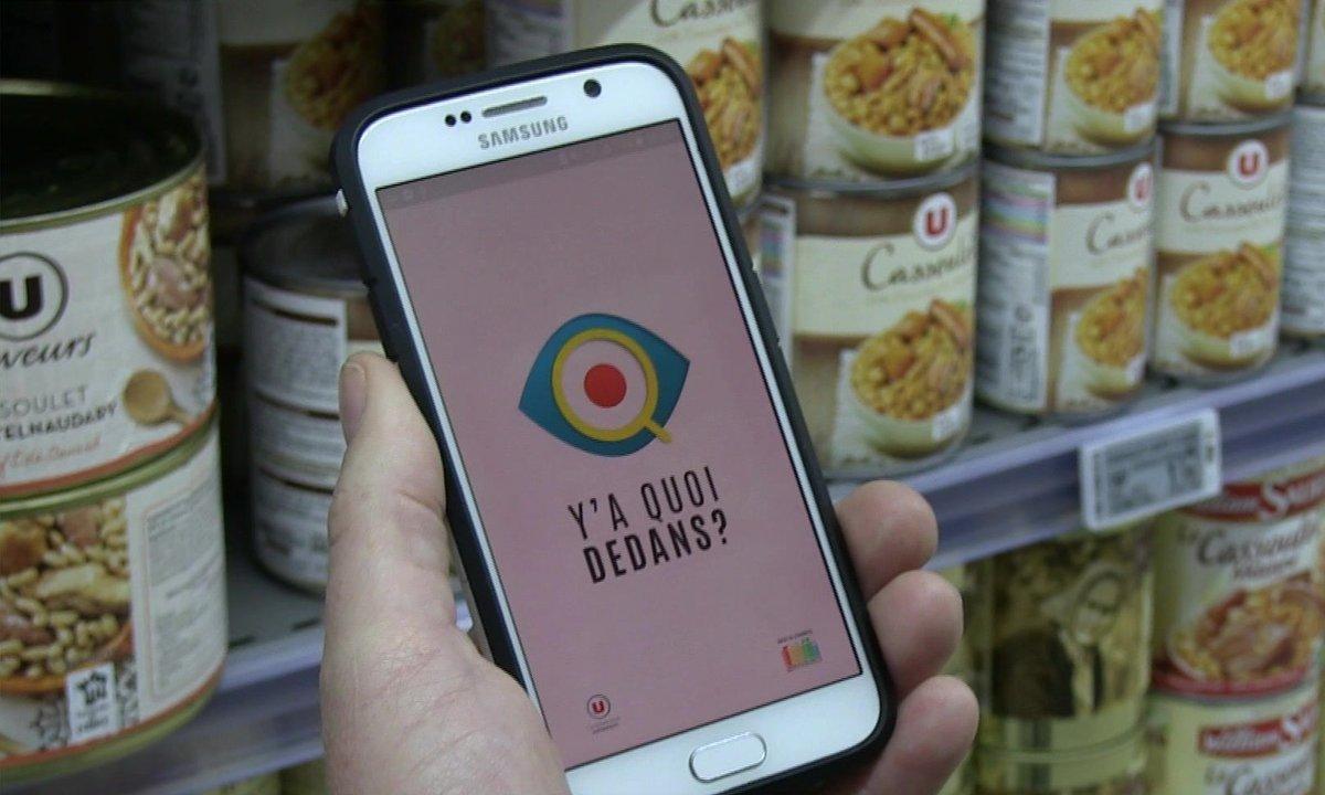 Guerre à la malbouffe : des applis pour décoder les étiquettes
