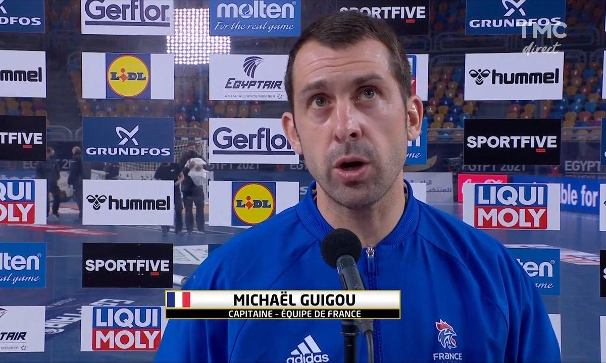 """Michaël Guigou : """"Les Suédois ont été meilleurs que nous"""""""