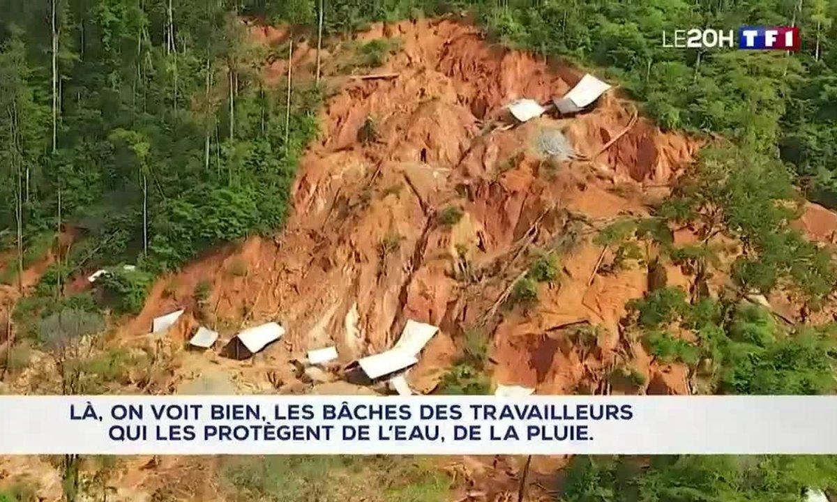 Guyane : le fléau de l'orpaillage illégal.