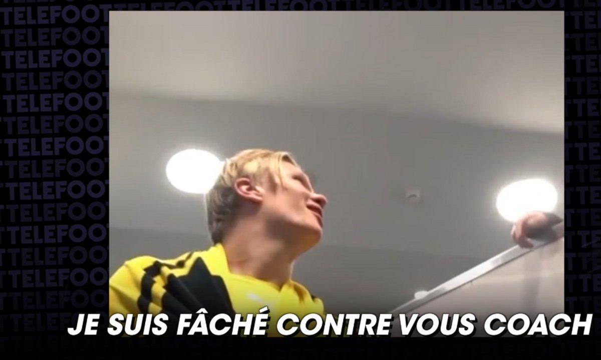 VIDEO - Le pari entre Haaland et son entraîneur