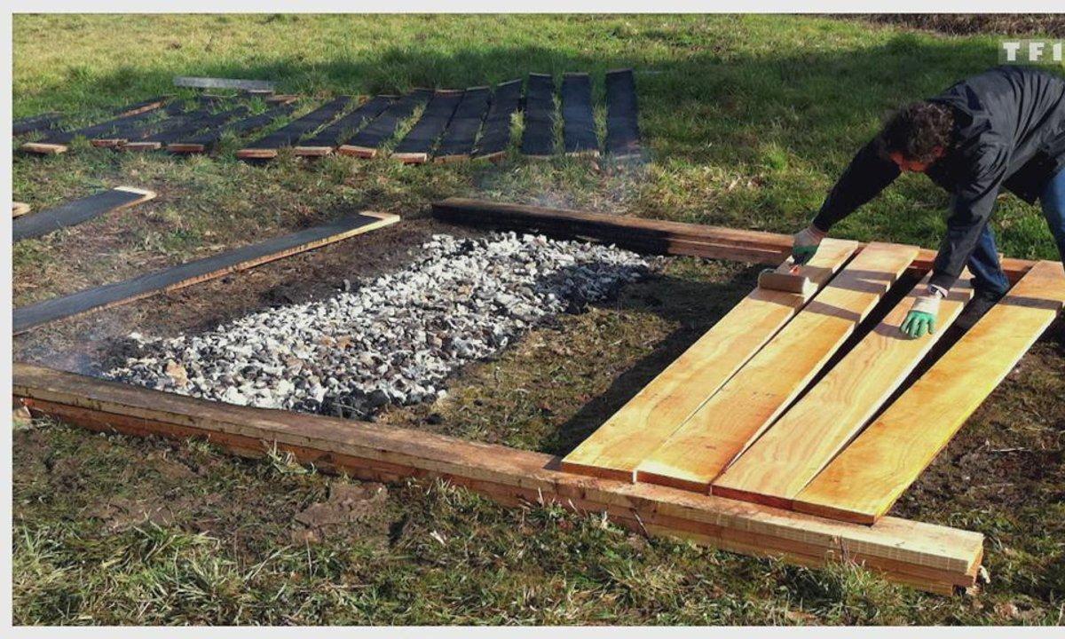 Habitons demain - Bardage en bois brûlé