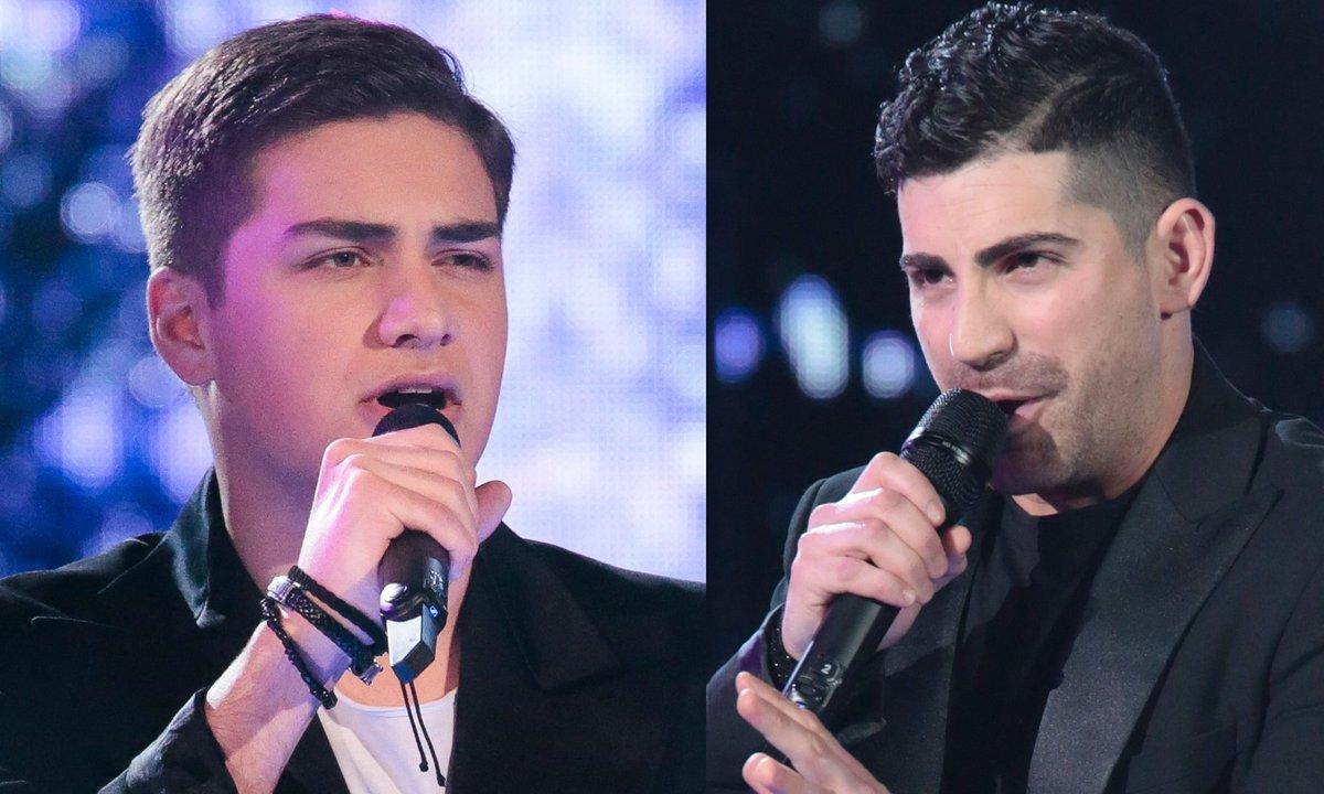 "THE VOICE 2020 - Hakob VS Tirso Rafael chantent ""Chanter"" de Florent Pagny"