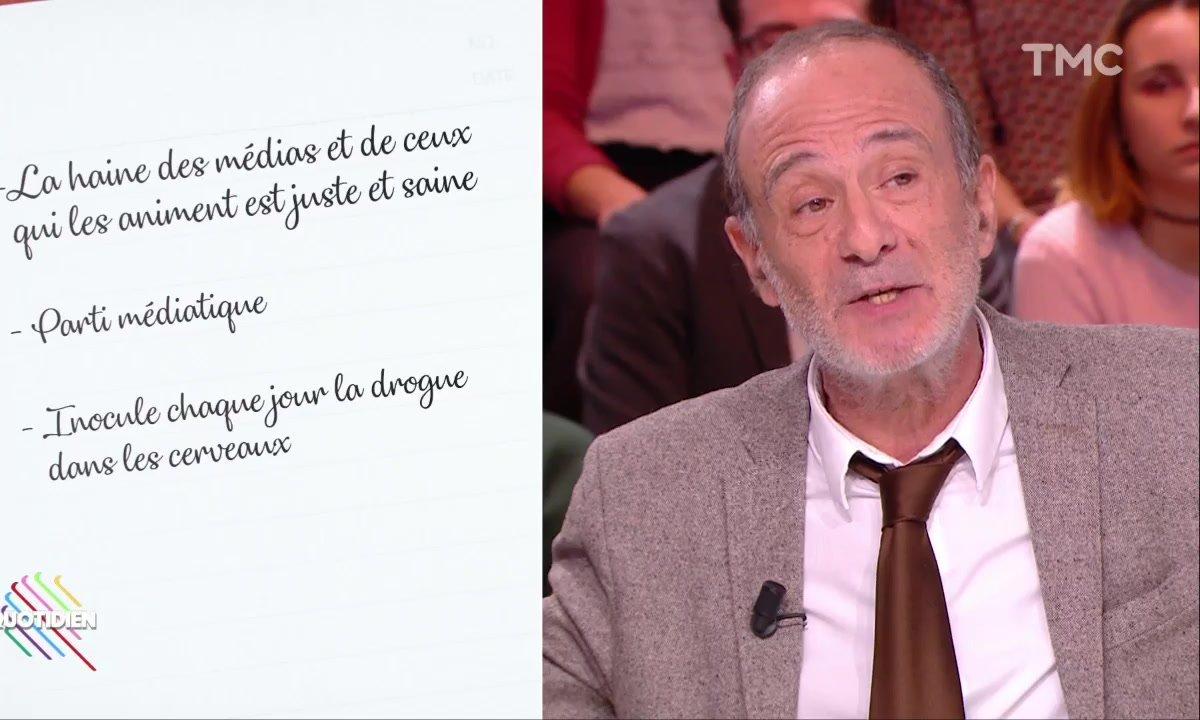 """Haine des médias : Gérard Miller """"comprend la colère"""" de Jean-Luc Mélenchon"""