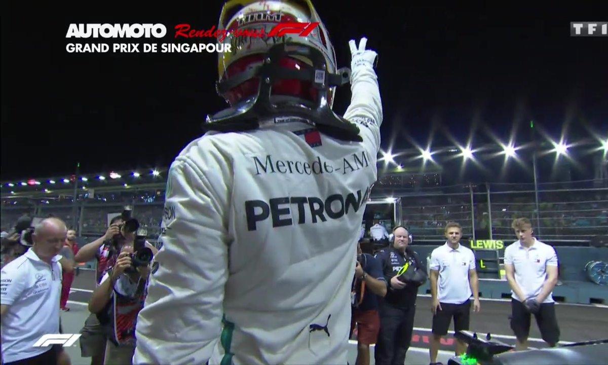Rendez-vous F1 - GP Singapour : Le résumé des qualifs