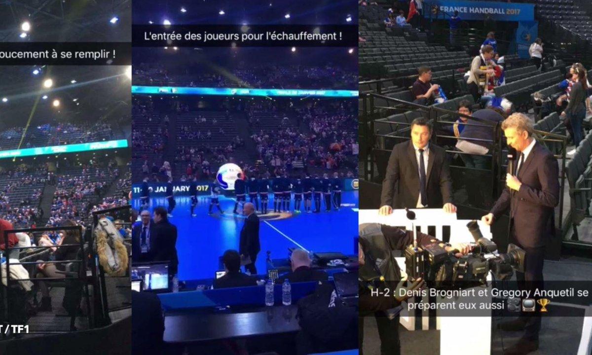 France - Norvège : les coulisses de la finale en Story Snapchat !