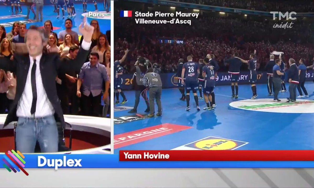 Handball : Qui ne saute pas n'est pas Français !