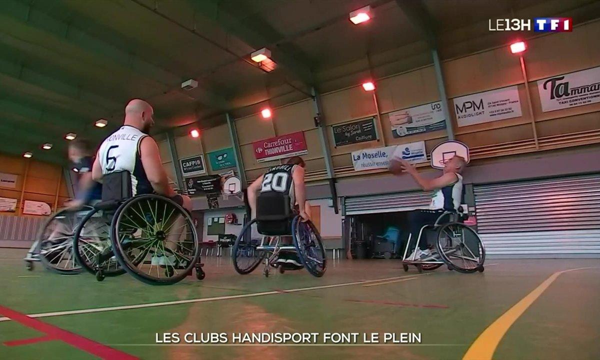 Handisport : les clubs font le plein grâce aux Jeux paralympiques