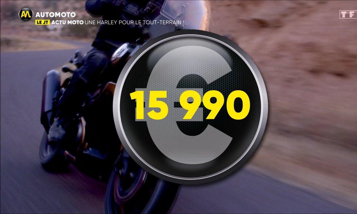 VIDEO - Harley se lance dans le tout-terrain !