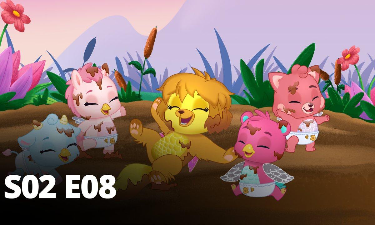 Hatchimals - S02 E08 - La boue c'est rigolo