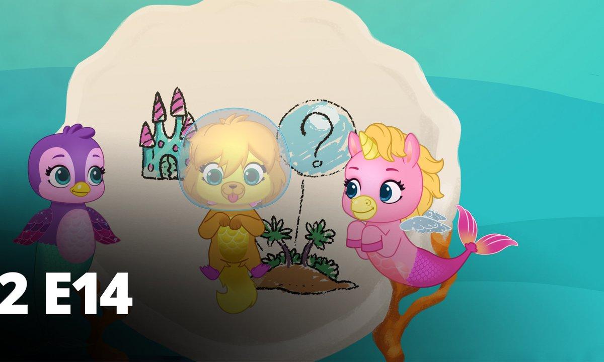 Hatchimals - S02 E14 - Soirée pyjama sous-marine