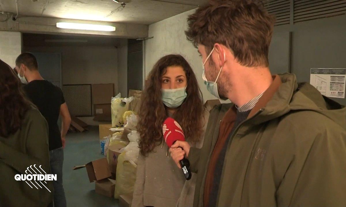 Haut-Karabagh: des bénévoles français au secours des réfugiés