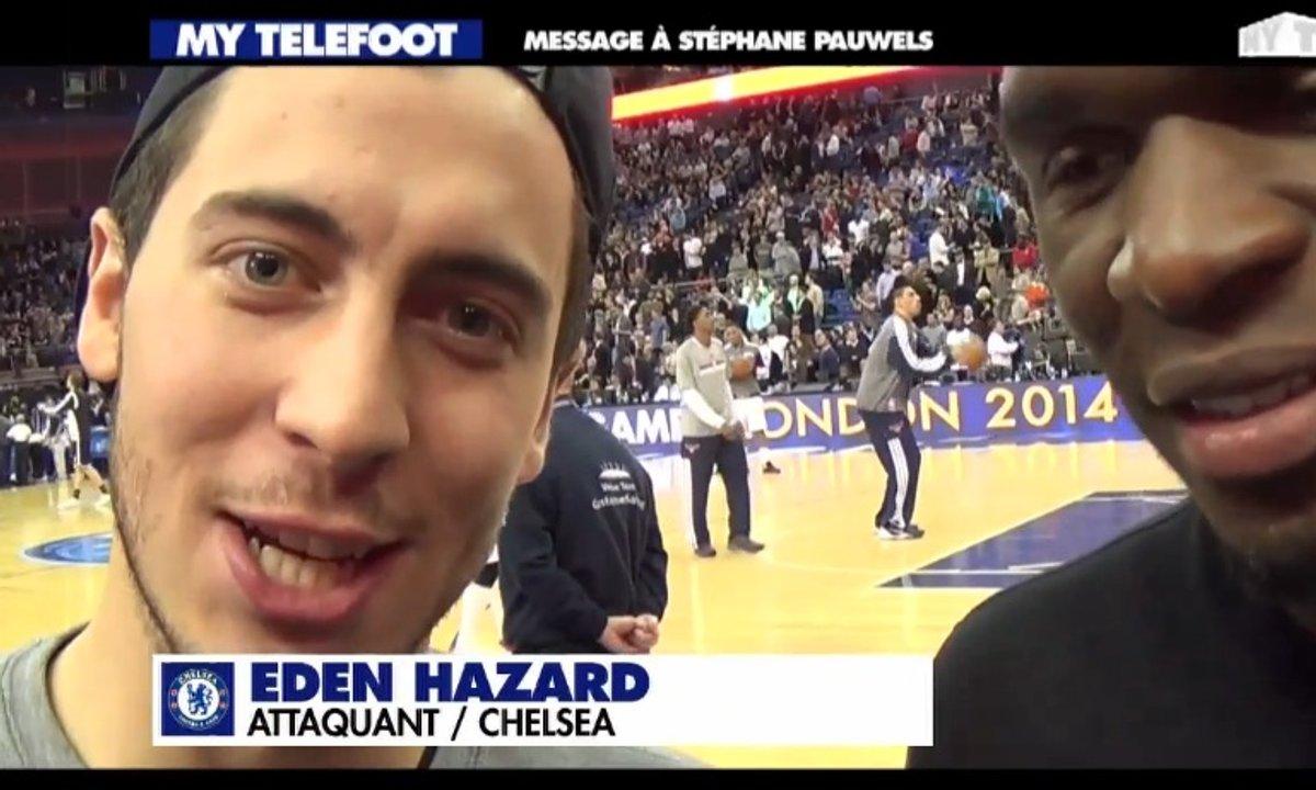 Le coucou de Hazard et Benteke à MyTELEFOOT !