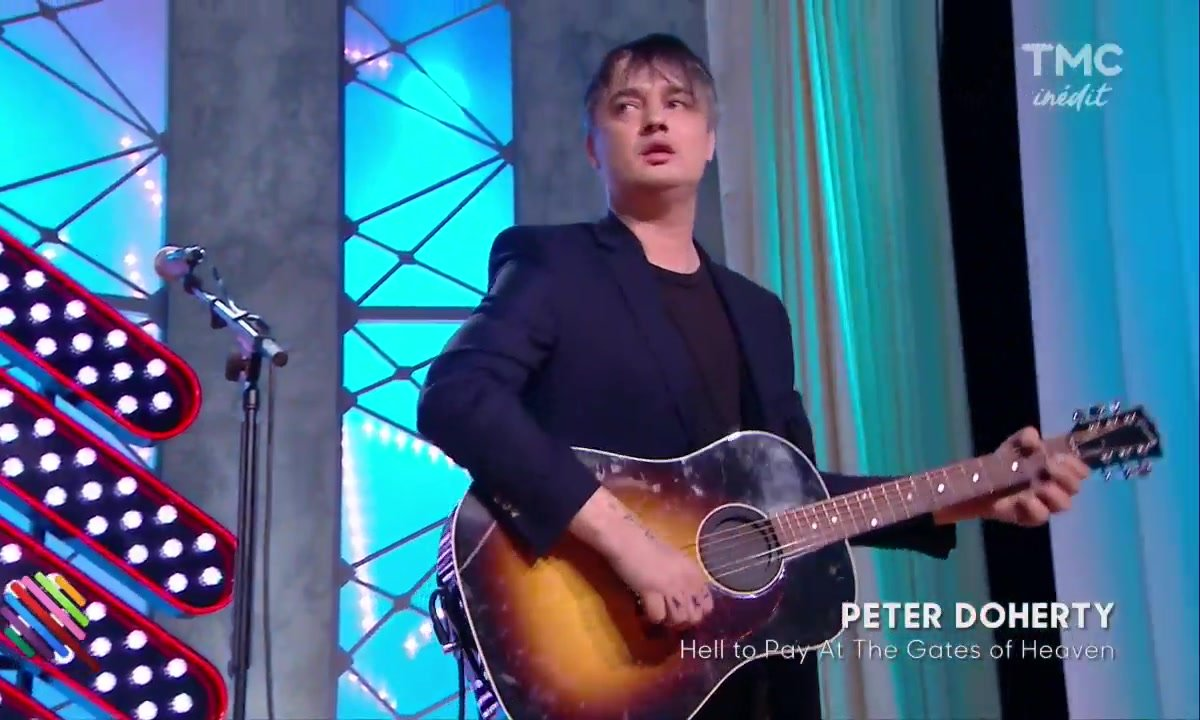 """Pete Doherty - """"Hell To Pay At The Gates Of Heaven"""" en live dans Quotidien"""