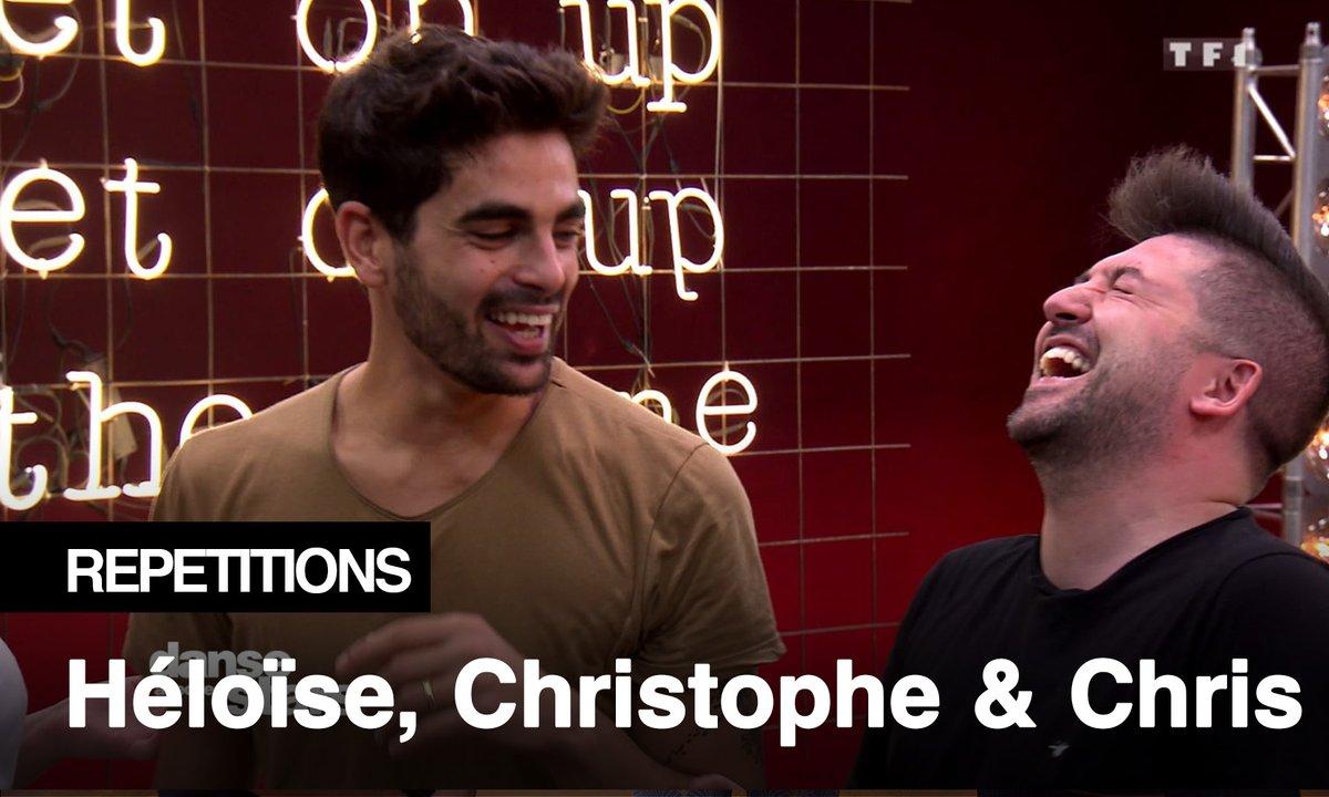 Répétitions - Héloïse Martin, Chris Marques, crise de fou rire de bon matin