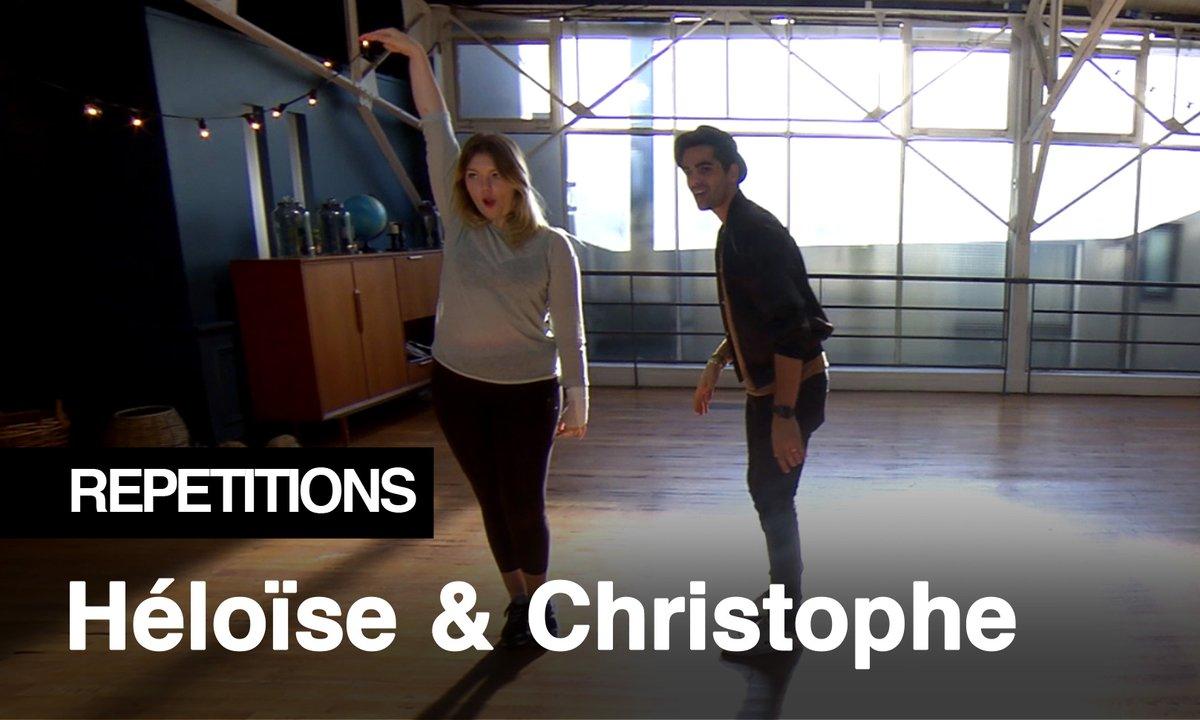 """Répétitions - """"Appelle-moi, the king of the dance !"""" Héloise Martin et Christophe Licata"""
