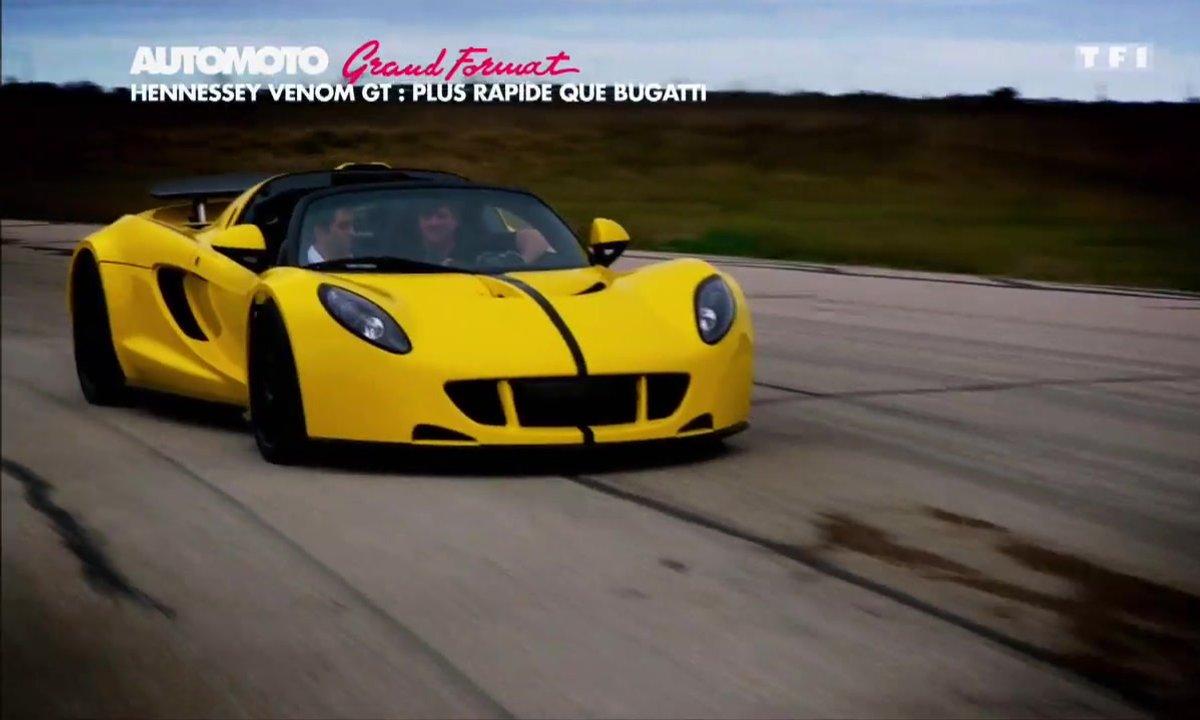 Grand Format : Hennessey Venom GT, plus rapide que Bugatti