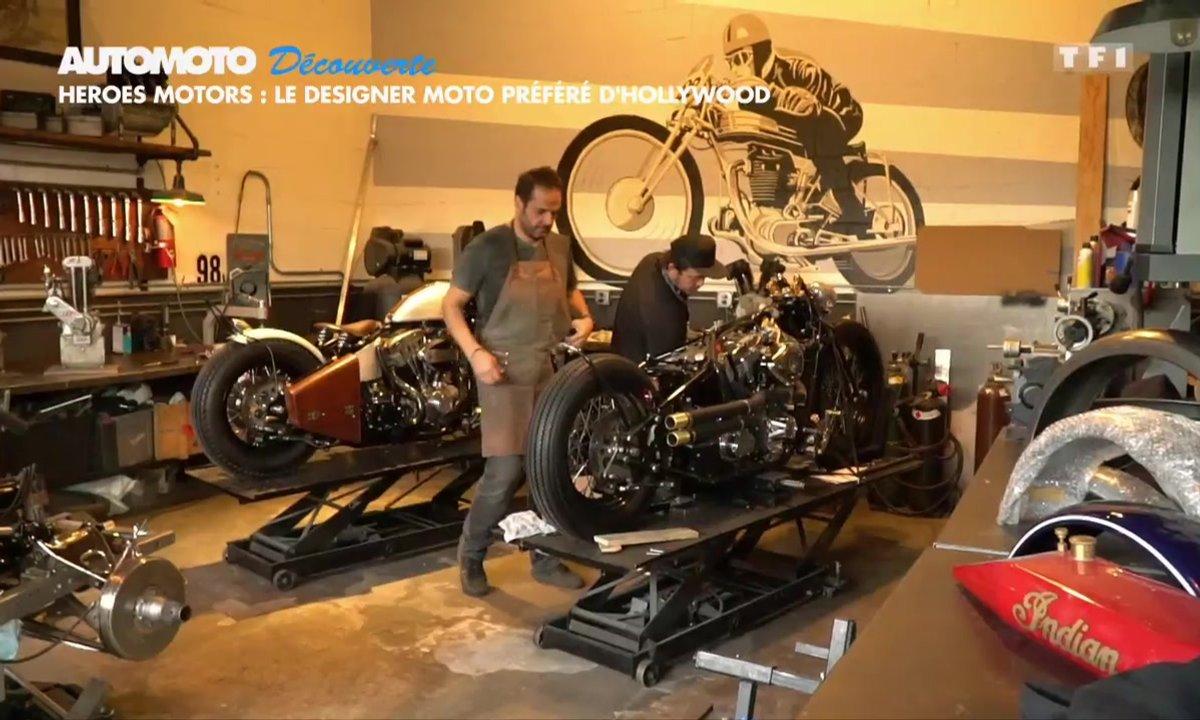 Découverte - Heroes Motors, le designer moto préféré d'Hollywood
