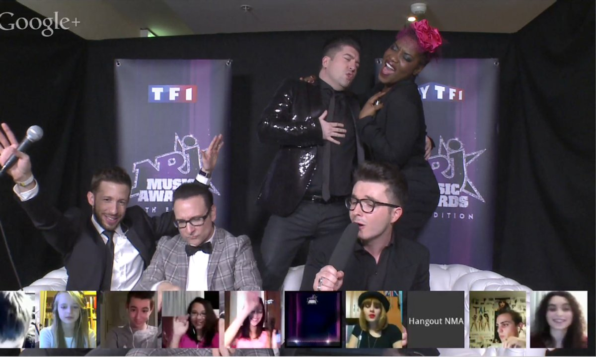 Best Of Hangout  NRJ Music Awards : des Stars en folie