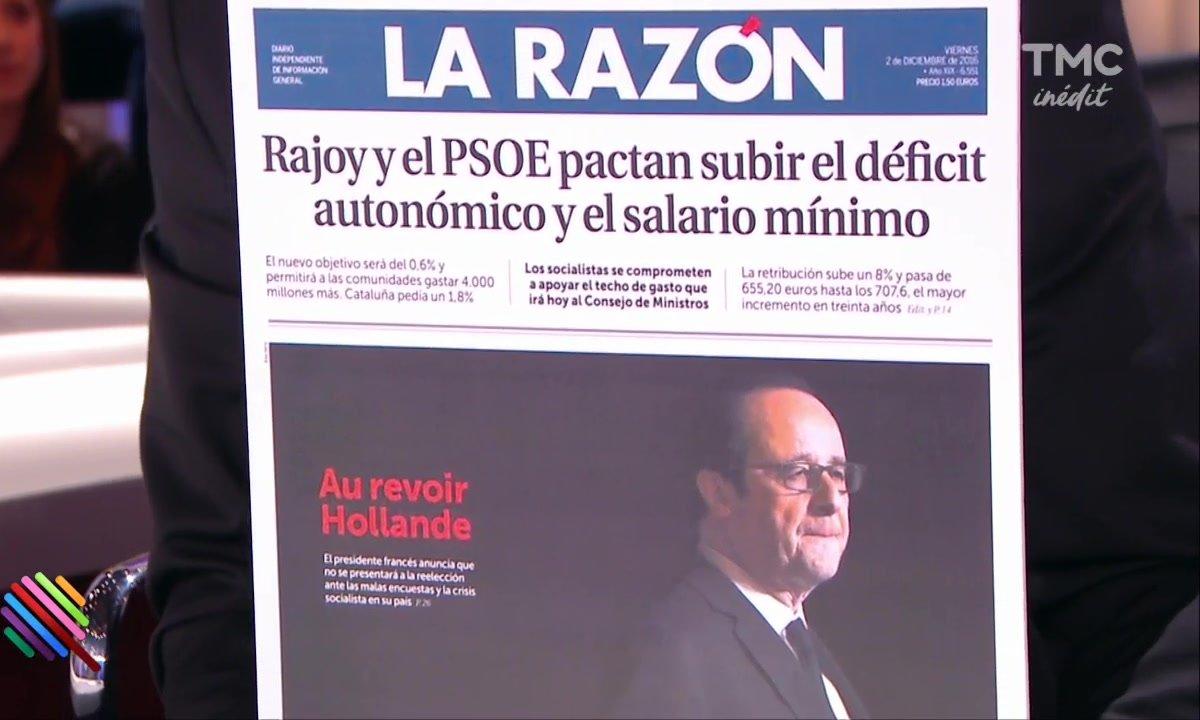 Hollande renonce  - Vu de l'étranger !