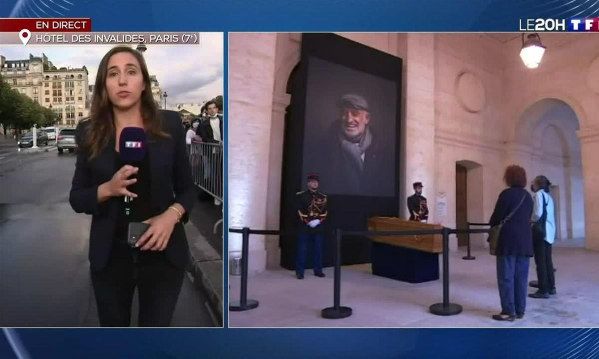 Hommage à Jean-Paul Belmondo : les Français se recueillent devant son cercueil
