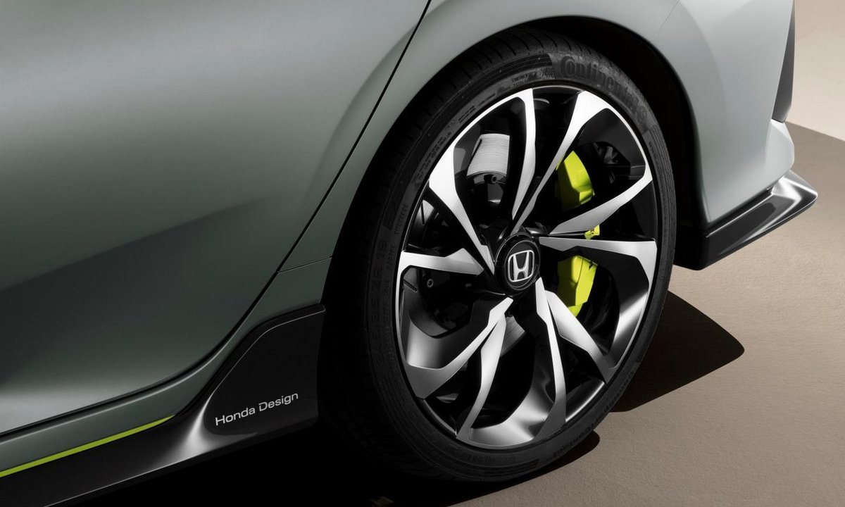 Honda Civic Hatchback Concept, en vidéo