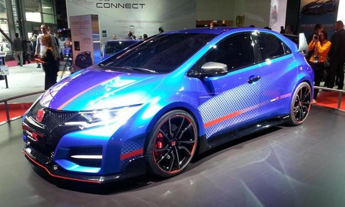 Honda Civic Type R, compacte, mais sportive - Mondial de l'Automobile 2014