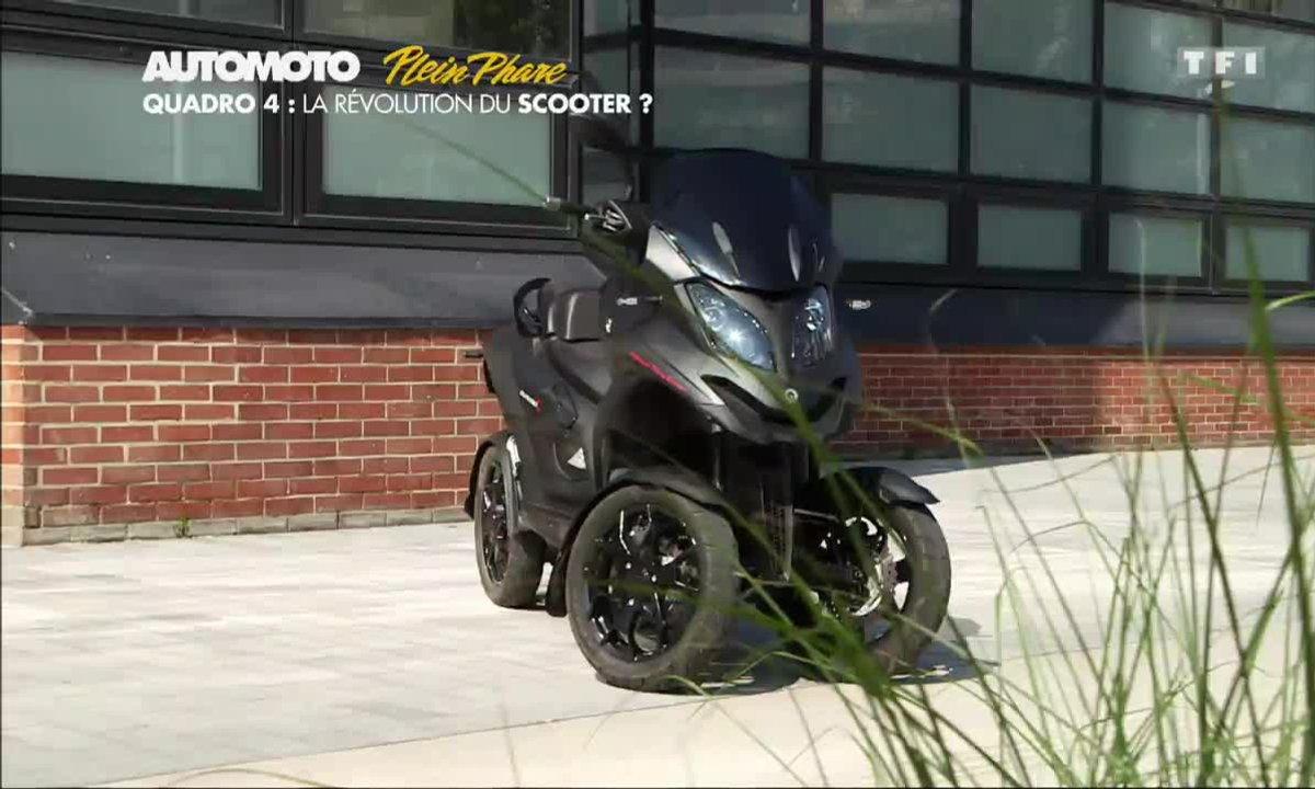 Plein Phare : Quadro 4, la nouvelle révolution du scooter ?
