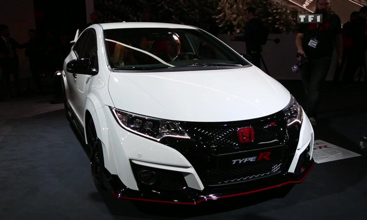 La Honda Civic Type R de retour au Salon de Genève 2015