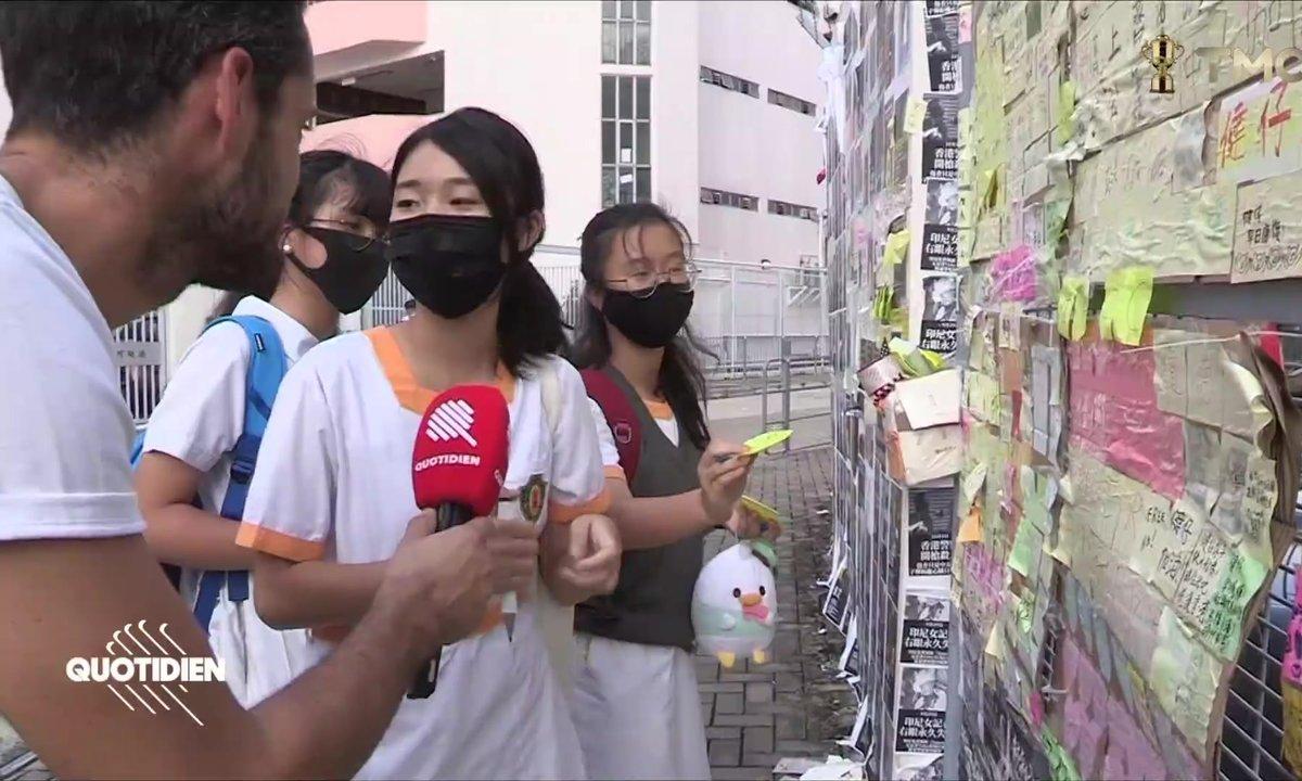 Hong Kong : le symbole Tsang Chi-kin, étudiant blessé par un tir à balles réelles