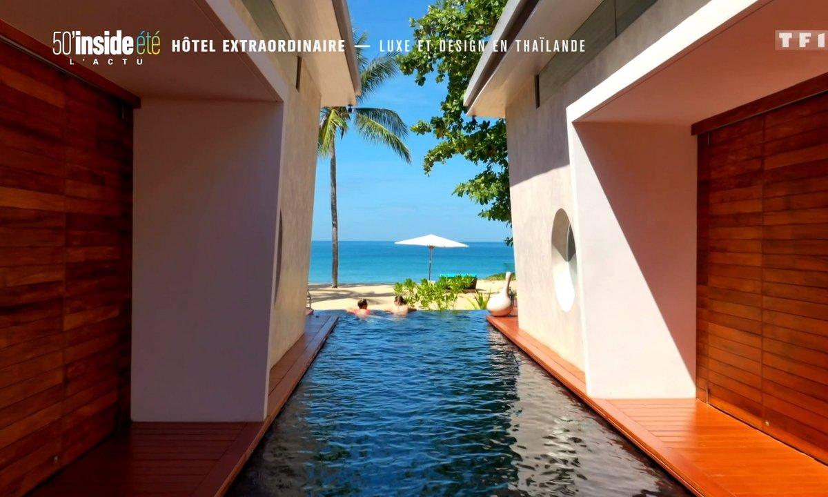 Hôtel extraordinaire : luxe et design en Thaïlande