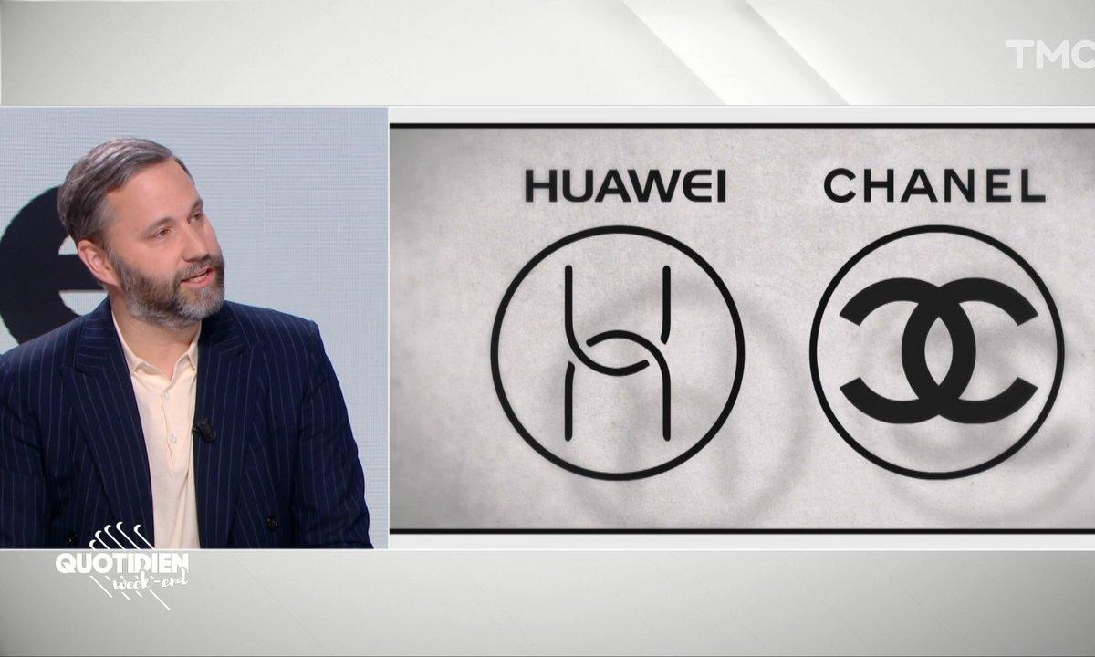Huaweï a-t-elle copié le logo Chanel ?