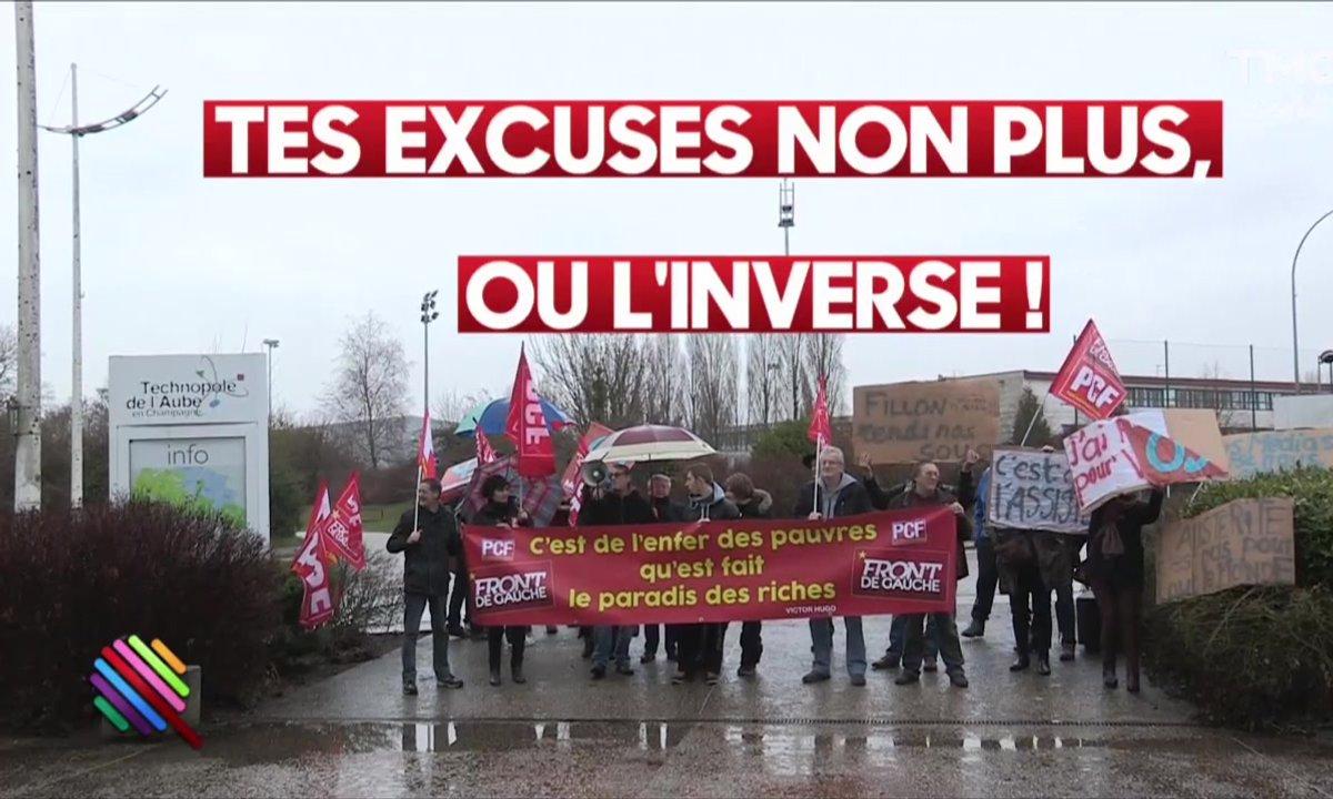Hugo Clément : des comités d'accueil pour Fillon à Troyes