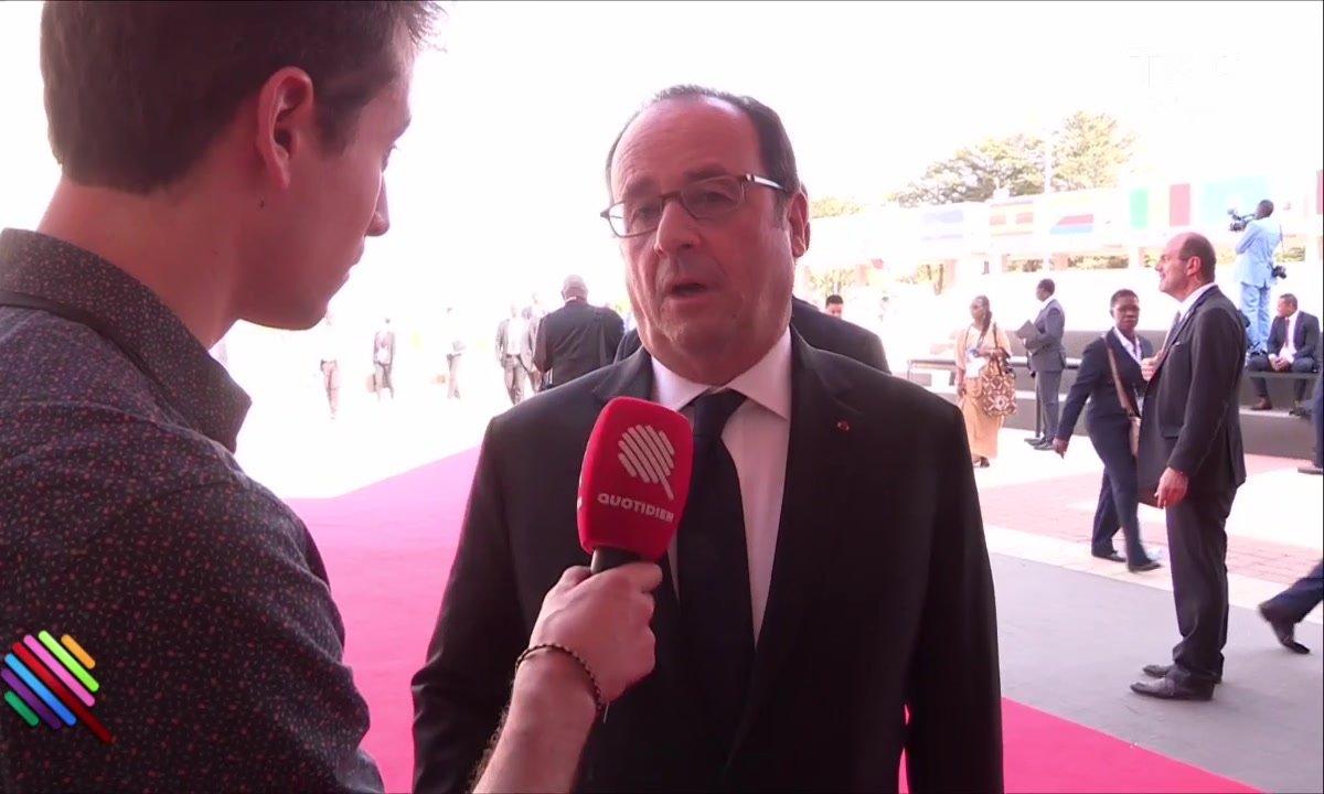 Hugo Clément : l'interview bilan de François Hollande
