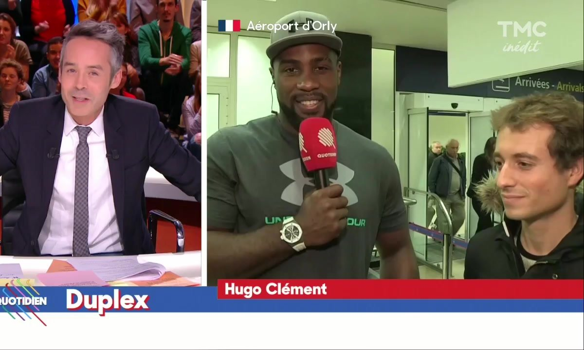 Hugo Clément : Welcome Back Teddy Riner