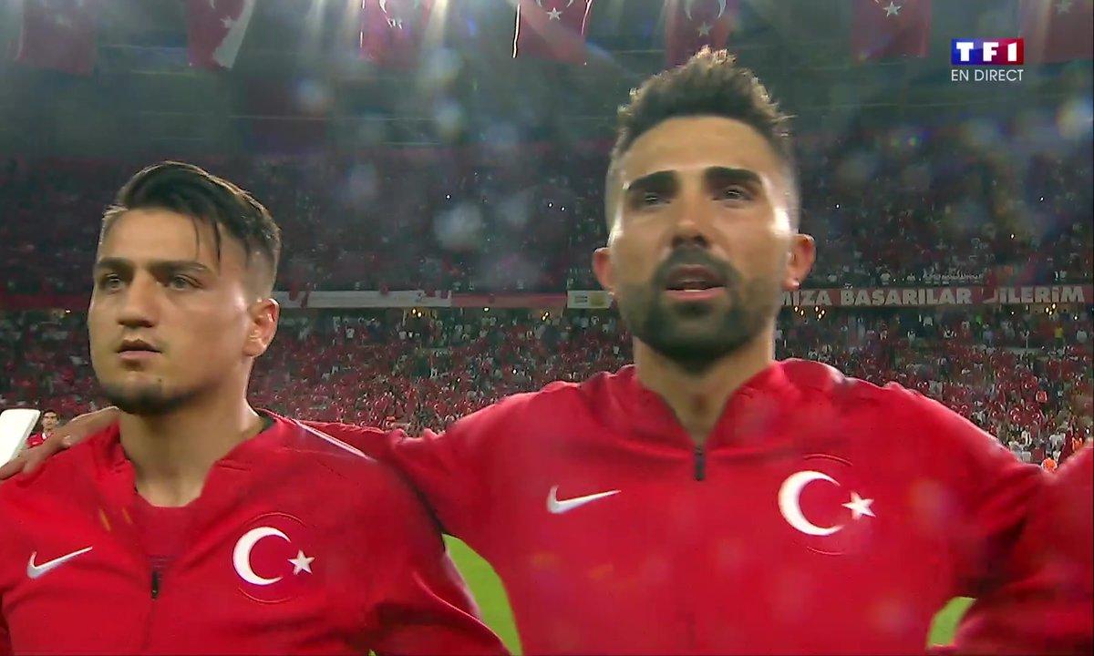Turquie - France : Voir l'hymne turc en vidéo
