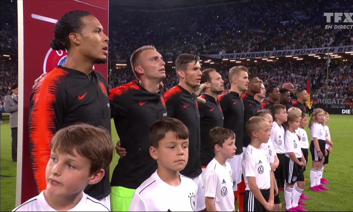 Allemagne - Pays-Bas : Voir l'hymne néerlandais en vidéo