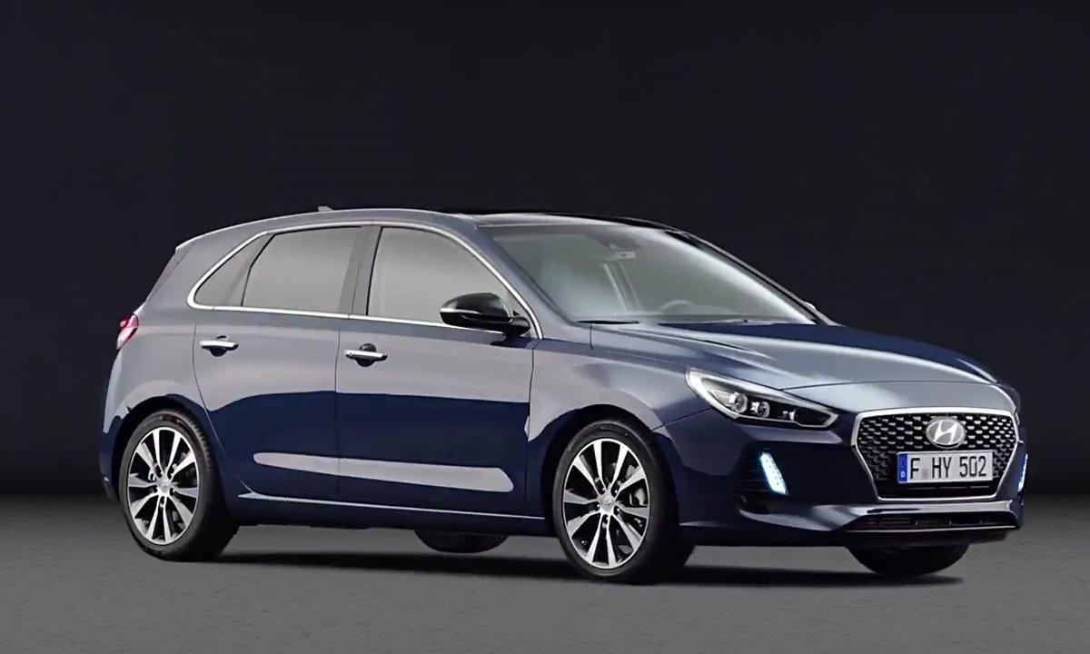 Hyundai i30 2017 : présentation officielle