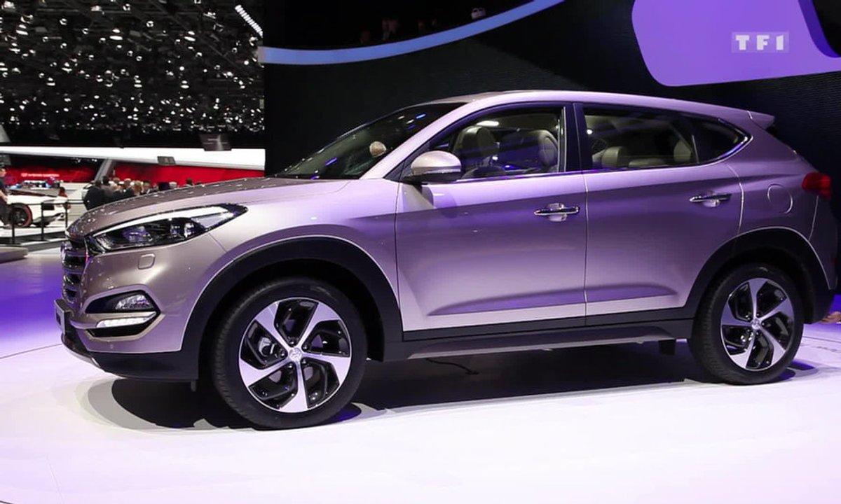 Le nouveau Hyundai Tucson au Salon de Genève 2015