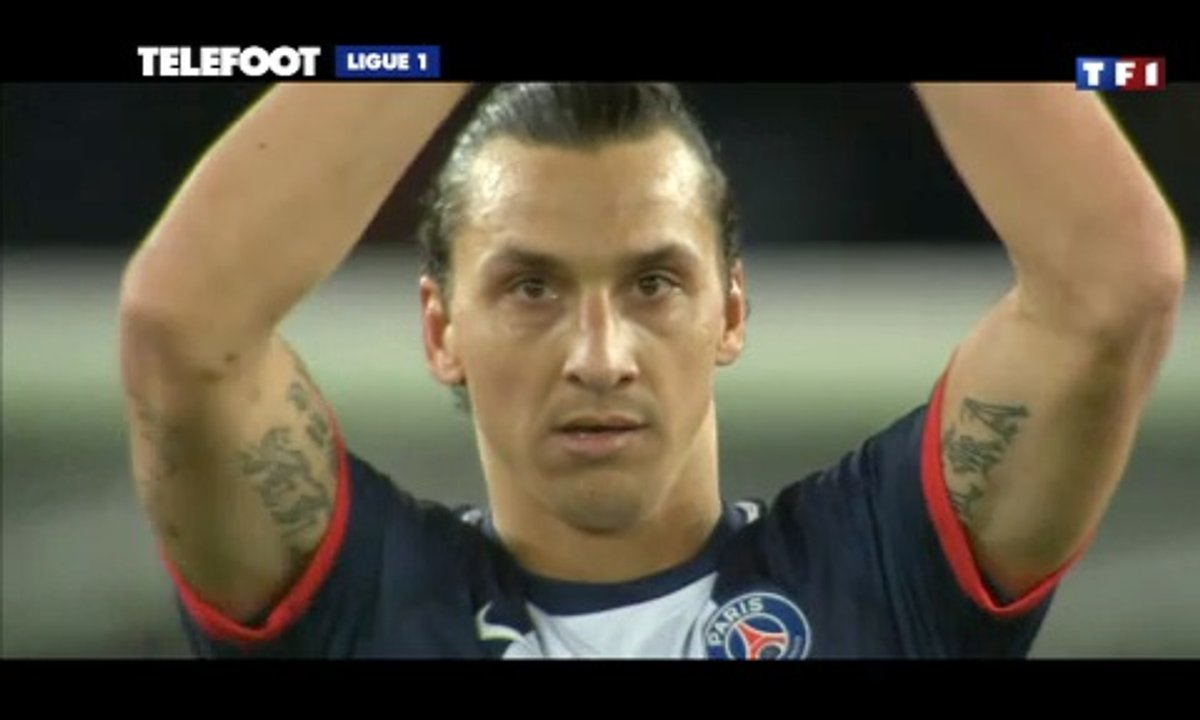 PSG-Nice : Ibrahimovic, le 50e rugissant