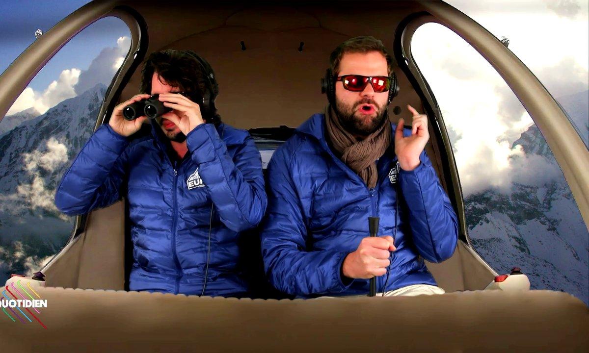 Les identitaires font du ski (Eric et Quentin)