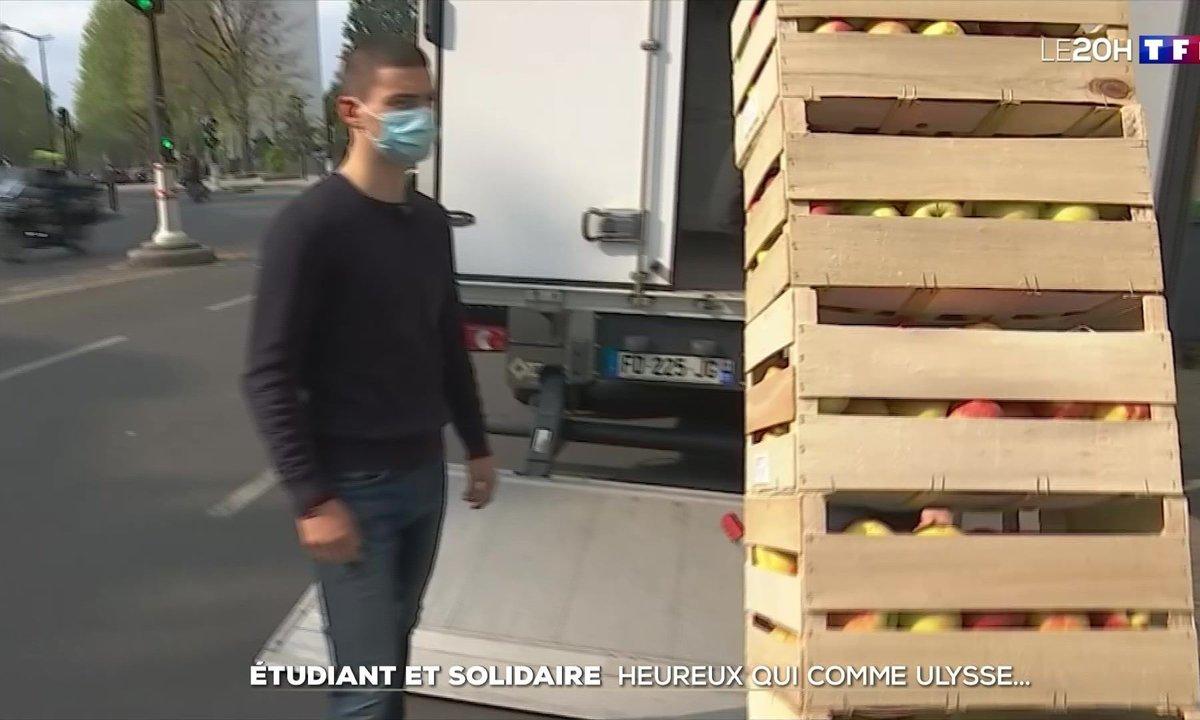 Il distribue des milliers de repas aux étudiants