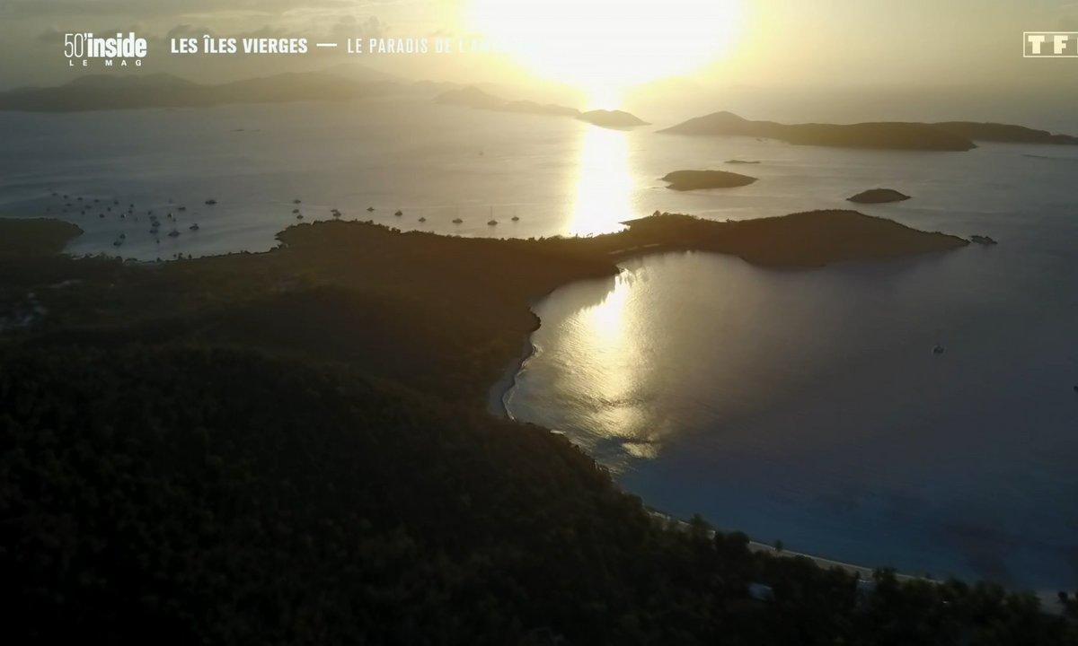 Les îles Vierges : le paradis de l'Amérique