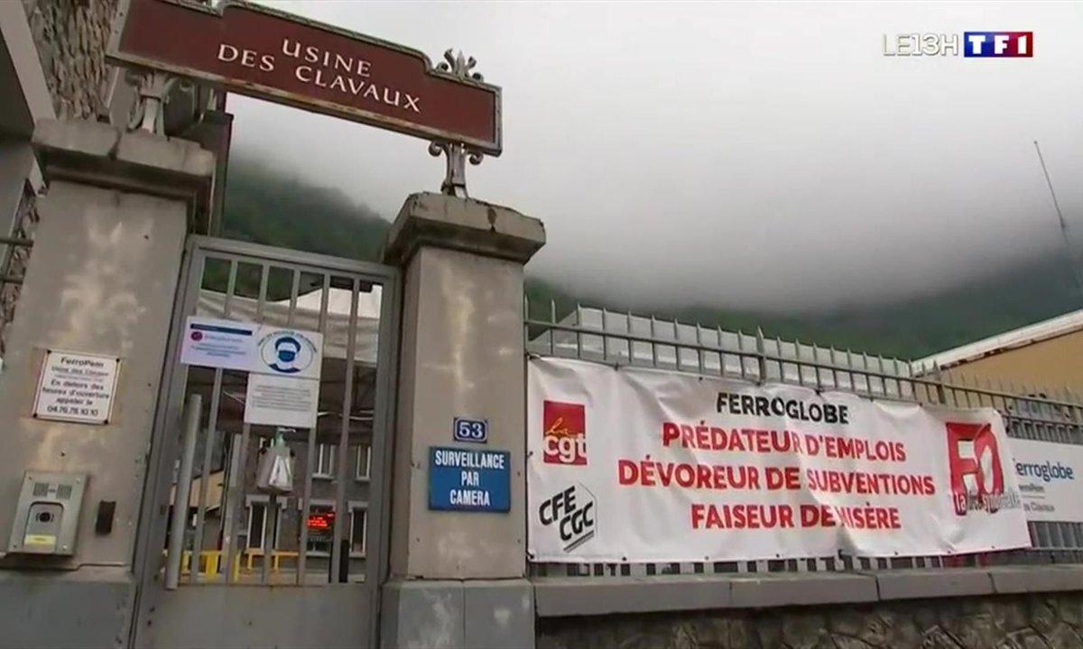Ils se démènent pour sauver leur usine en Isère