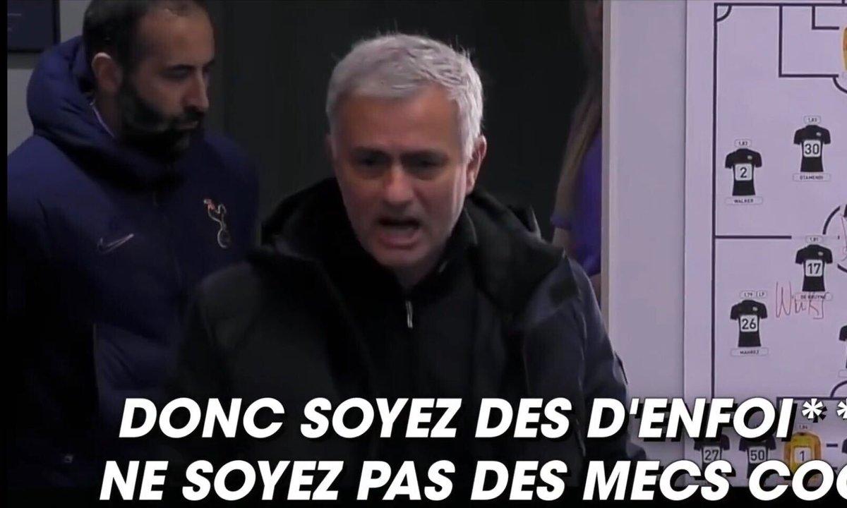 """VIDEO - Mourinho veut des """"enfoirés"""" dans son équipe"""