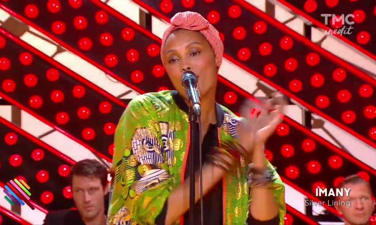 Imany - Silver Lining en live sur Quotidien