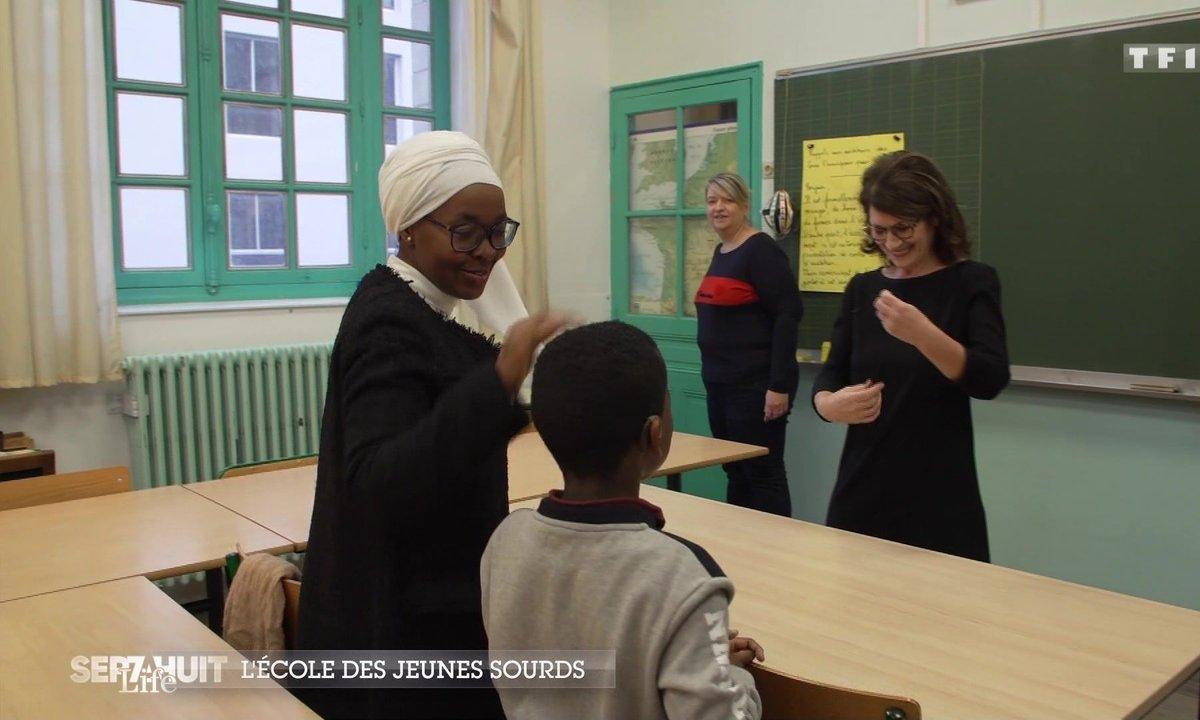 Immersion à l'INJS, l'école des jeunes sourds