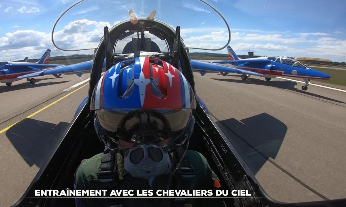 Immersion avec la Patrouille de France, les chevaliers du ciel