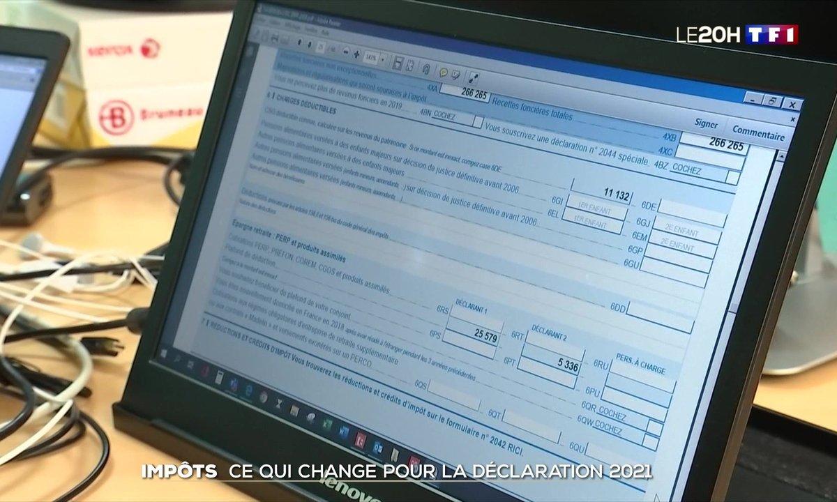 Impôts 2021 : ce qui change sur la déclaration de revenus