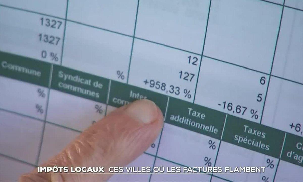 Impôts locaux : ces villes où les factures flambent