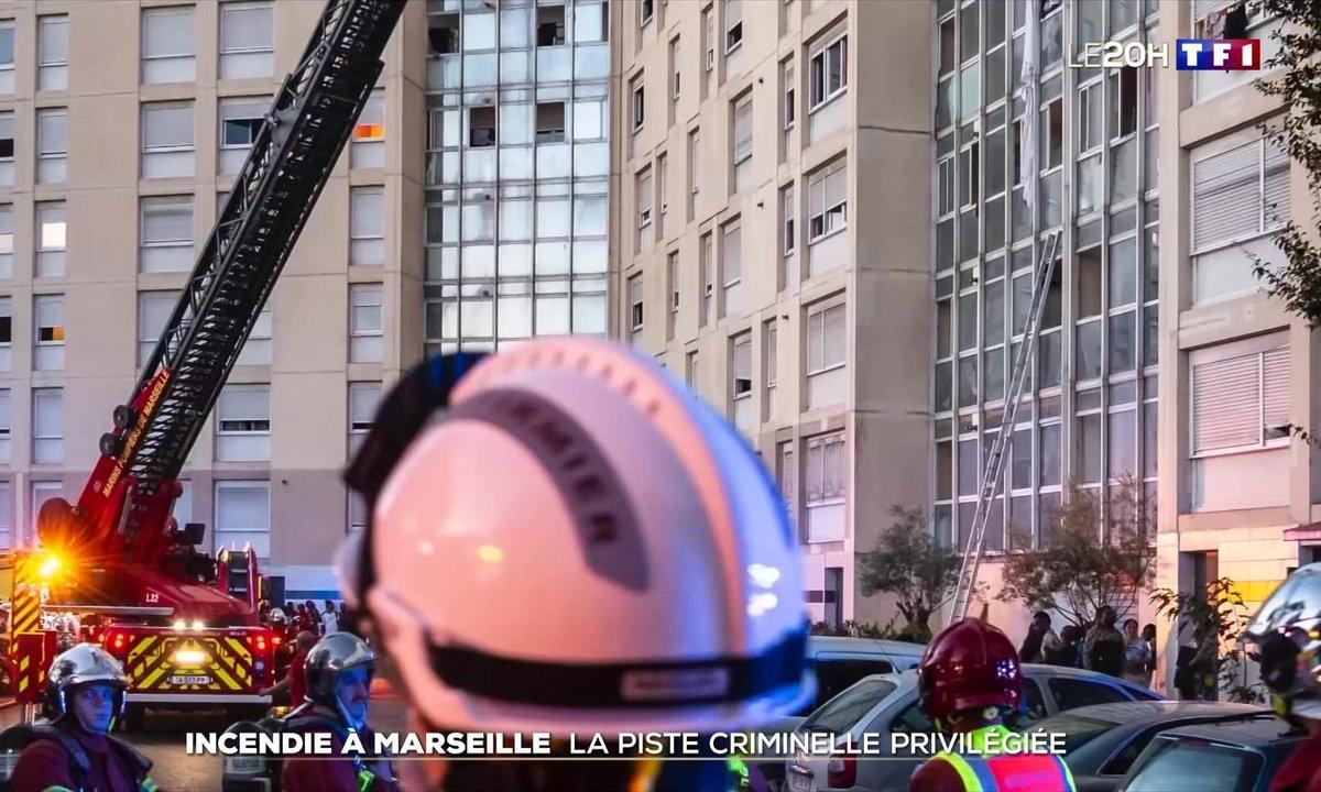 Incendie à Marseille : la piste criminelle privilégiée